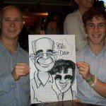 caricatures winchester party entertainment