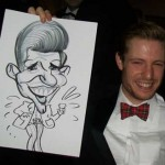 more gums than teeth but it a great caricature at lythe hill hotel
