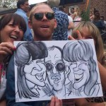 epsom party ideas caricatures