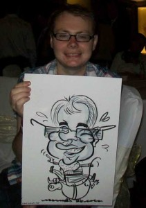 frimley guildford caricatures
