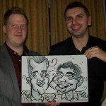haslemere caricaturist weddings