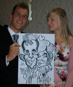 Twickenham London caricatures