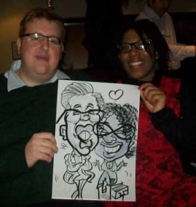 hampshire caricaturist