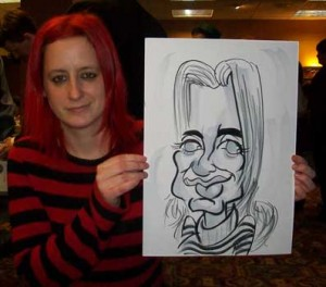 guildford caricaturist
