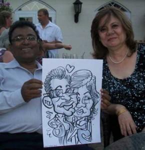 caricaturist bournemouth