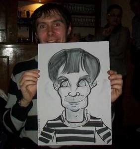 kent caricaturist