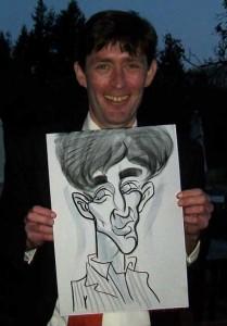 surrey caricaturist