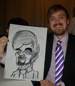 caricaturist carshalton