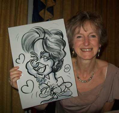 worthing caricaturist