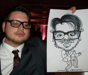caricaturist clapham