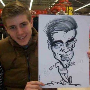 caricaturist crawley