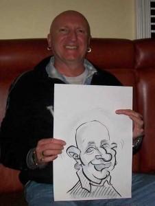 dover caricaturist
