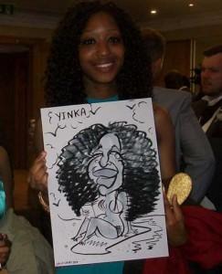 east grinstead caricaturist