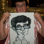 Cadnam New Forest wedding caricatures