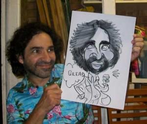 epsom caricaturist
