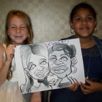 guildford wedding caricatures