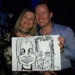 wedding caricatures copthorne