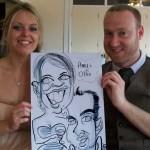 wallington wedding caricatures