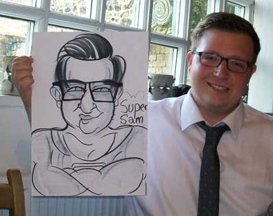 deal wedding caricatures