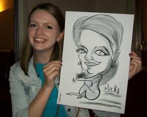 corporate caricaturist southampton