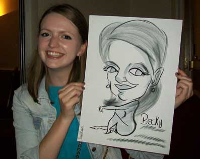 corporate caricaturist southampton