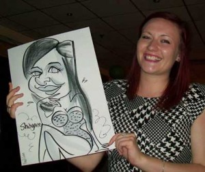 southampton corporate caricatures