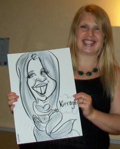 southampton corporate caricatures