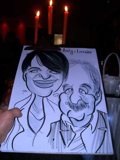 wedding entertainment chichester caricatures