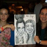 caricatures winchester party entertainer
