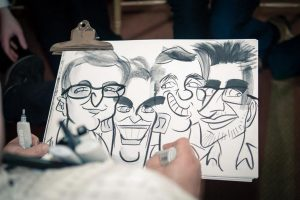 all brothers in one caricature