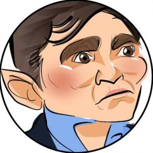 andy burnham mp caricature