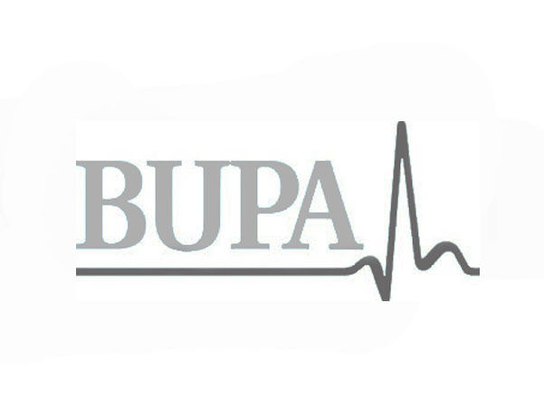 bupa logo caricature client