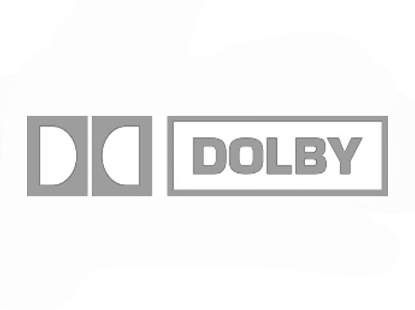 dolby logo caricaturing at dolby vision event