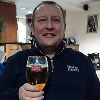 john foord with pint