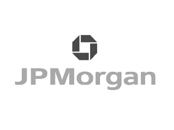 JPMorgan logo caricature client