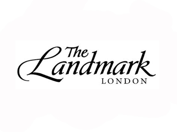 the landmark hotel logo caricatures at the venue