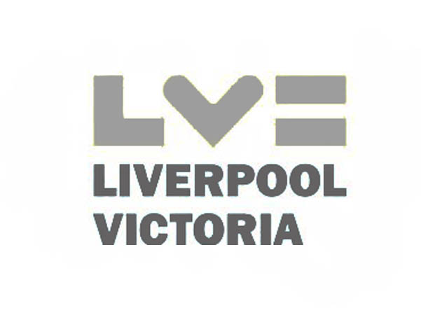 Liverpool and Victoria logo caricature customer