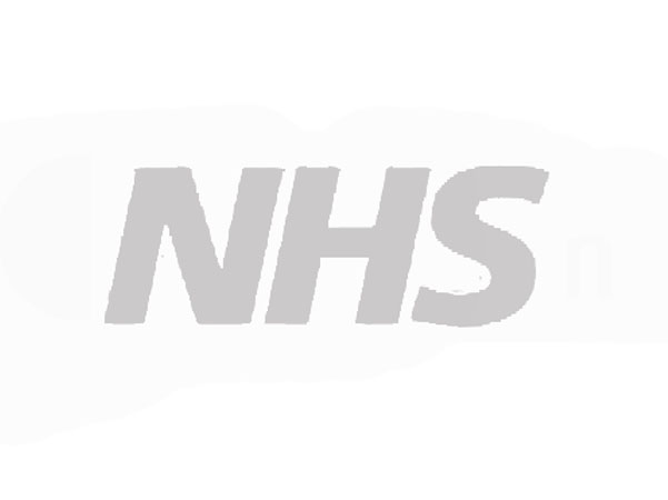 nhs logo and caricatures