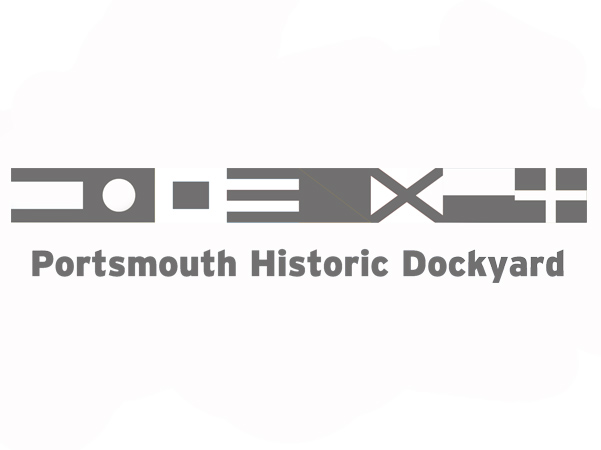 portsmouth historic dorkyard logo caricatured client