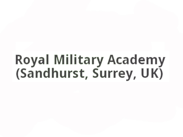 caricatures at the royal military academy sandhurst logo