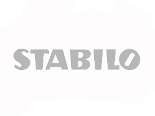 stabilo logo caricature customer