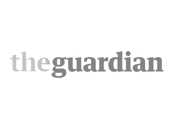 The Guardian logo caricature customer