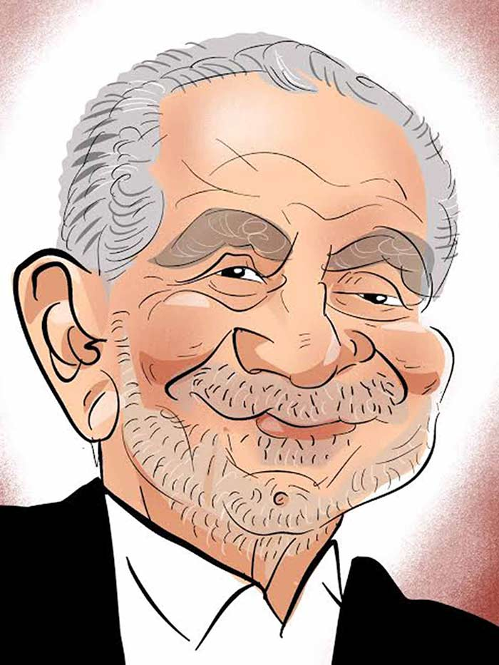 Alan Sugar in Caricature