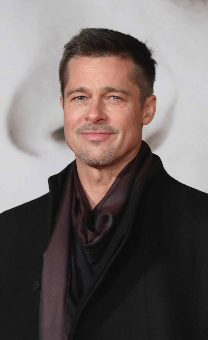 a picture of Brad Pitt and his Croydon connections