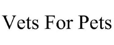 vets for pets company logo