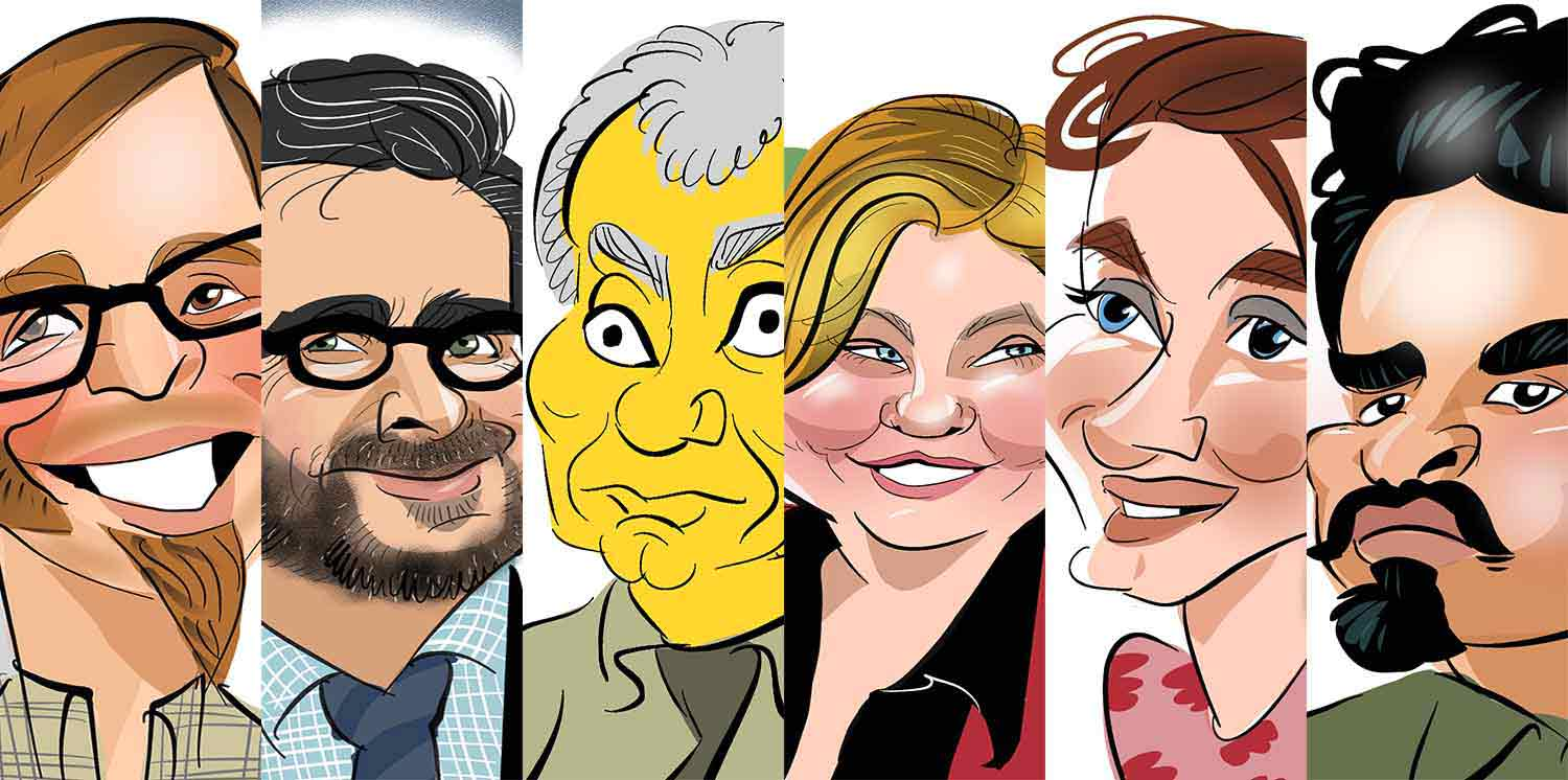 the full monty of digital caricatures simpson colour character included
