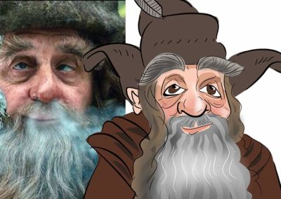 Rafagast lord of the rings caricature