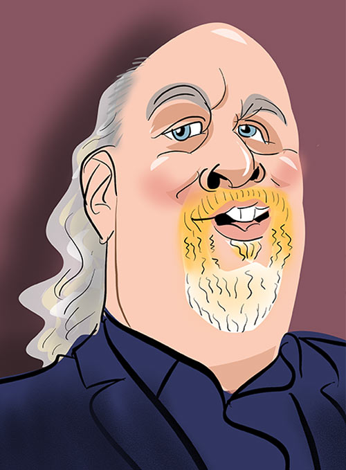 bill bailey caricature