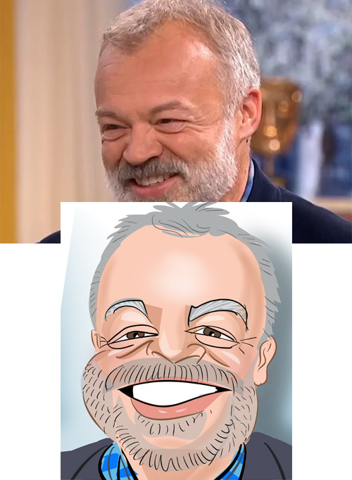 Graham Norton Caricature