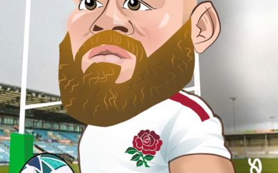 RWC 2019 England Team